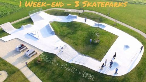 1 WEEK-END - 3 SKATEPARKS