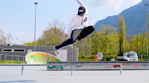 10 BEST LOOKING FLATGROUND TRICKS - Jonny Giger