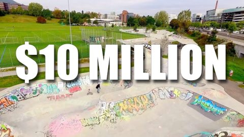 10 MILLION DOLLAR SKATEPARK! - Jonny Giger