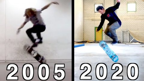2005 KING OF THE ROAD TRICKS CHALLENGE! - Jonny Giger