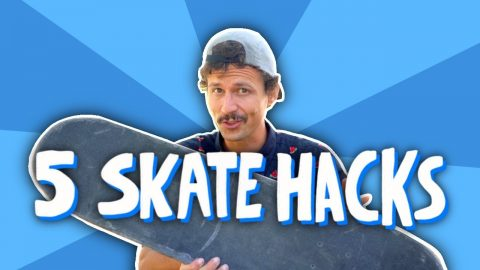 5 SKATE HACKS TO LEARN EVERY TRICK (DARKSLIDES TOO!) - Jonny Giger