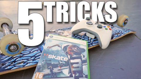 5 TRICKS YOU CAN'T DO IN SKATE 3 - Jonny Giger