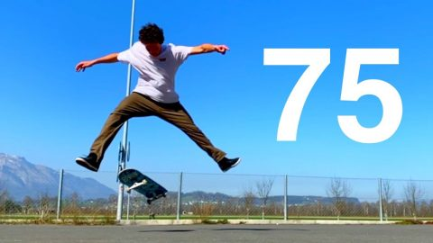 75 FLATGROUND TRICKS YOU HAVE TO SEE! - Jonny Giger