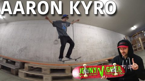 AARON KYRO CHALLENGED ME TO LAND THIS COMBO - Jonny Giger
