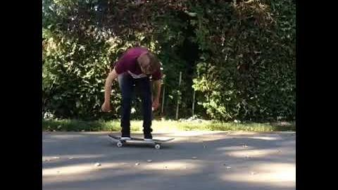 Acorn flip - pooponunicycle