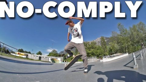 AMAZING NO-COMPLY TRICK *CHRIS HASLAM INSPIRED* - Jonny Giger