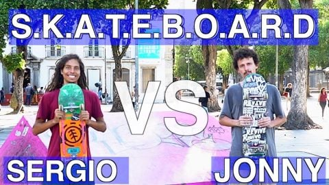ANYTHING AT THE SKATEPARK COUNTS! JONNY GIGER VS SERGIO SANTORO - Jonny Giger