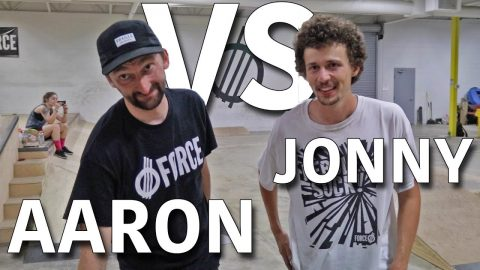 ANYTHING ON FLATGROUND COUNTS | AARON KYRO VS JONNY GIGER - Jonny Giger