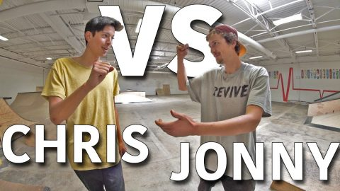 ANYTHING ON FLATGROUND COUNTS | CHRIS CHANN VS JONNY GIGER - Jonny Giger