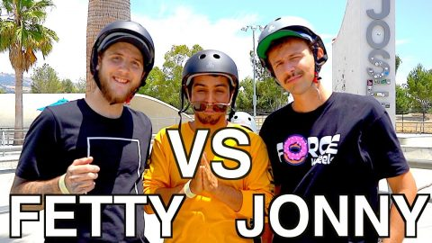 ANYTHING ON FLATGROUND COUNTS | FETTY POTTER VS JONNY GIGER - Jonny Giger