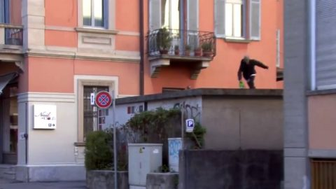Big ollie -  Alessio D'ambrosio - Poor skateboarding Channel