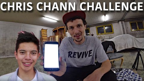 CHRIS CHANN CHALLENGED ME TO LAND THIS TRICK! - Jonny Giger