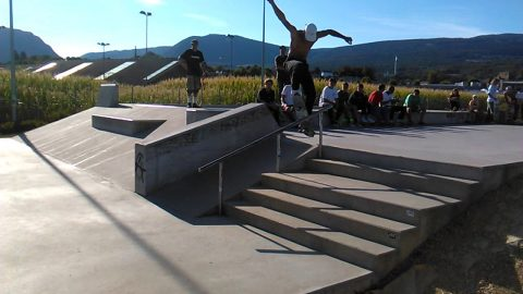 Colombier Raw Footage. - skateboardmedia1