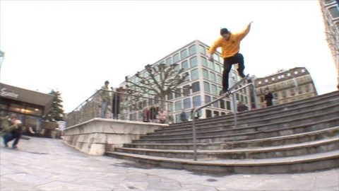 DASHTIPOOR SKATEBOARDS GENEVA – LUGANO CONNECTION epi 2 - Poor skateboarding Channel
