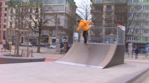 Dashtipoor skateboards  Geneva - Lugano connection episode n.1 - Poor skateboarding Channel