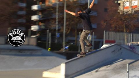Fabio emilcare - Poorskateboards  Lugano Switzerland - Poor skateboarding Channel