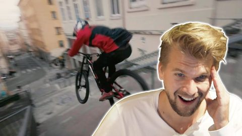 Fabio Wibmer Urban Freeride Lives 3 - SKATER Reaction - Fabian Doerig