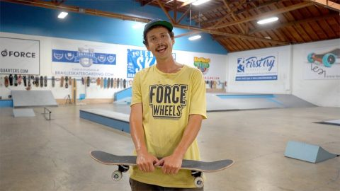 FIRST SKATE SESSION AT THE BRAILLE HOUSE   FEAT CHRIS MCNUGGET - Jonny Giger