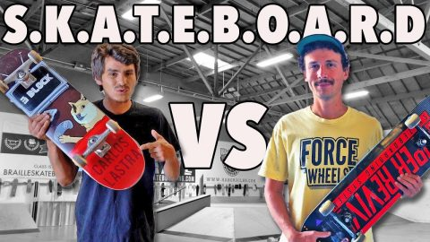 GAME OF SKATEBOARD | CARLOS LASTRA VS JONNY GIGER - Jonny Giger