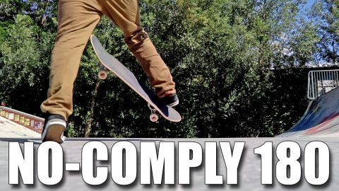 HOW TO NO-COMPLY 180 - Jonny Giger