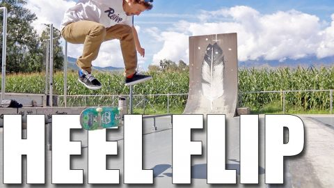 HOW TO PERFECT HEELFLIPS