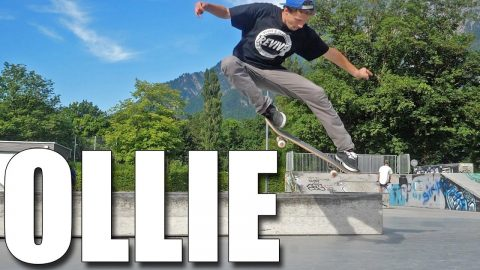 HOW TO PERFECT OLLIES - Jonny Giger