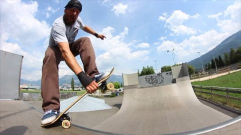 Igor Wenzel 40 years deep and still POSSESSED!!! - Vimeo / Herzblut Skateboards's videos