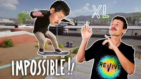 IMPOSSIBLE TRICKS IN SKATER XL! - Jonny Giger