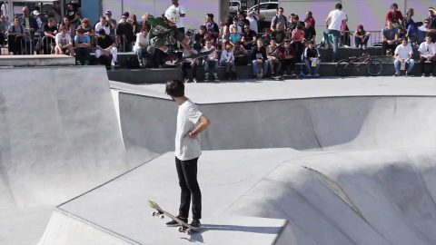 Inauguration du Skatepark Plainpalais 2012 - Will