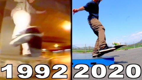 IT TOOK 28 YEARS FOR SOMEBODY TO REDO THIS TRICK | IMPOSSIBLE TO ANTI CASPERSLIDE - Jonny Giger