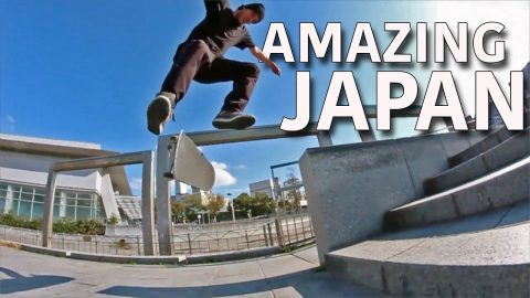 JAPAN SKATE FOOTAGE REVIEW! - Jonny Giger