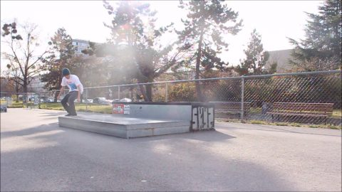Kickflip primo slide 360 inward - pooponunicycle