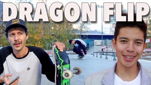 MAD TRICKS OF | CHRIS CHANN | DRAGON FLIP - Jonny Giger
