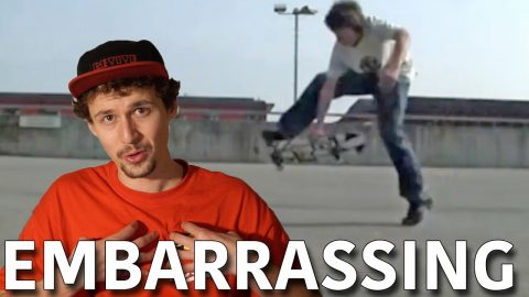 MY VERY FIRST EMBARRASSING SKATEVIDEO! - Jonny Giger