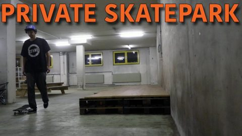 OUR PRIVATE INDOOR SKATEPARK