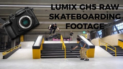 Panasonic Lumix GH5 Raw Skateboarding Footage (Recorded in 4K 60FPS) - Dario Ju