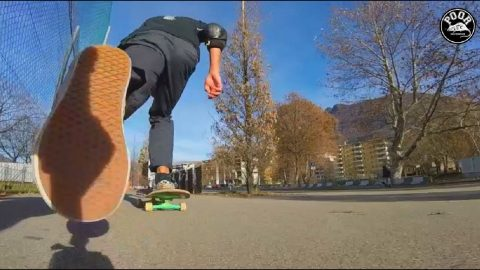 Poor las calles episode n.1 Lugano Switzerland - Poor skateboarding Channel