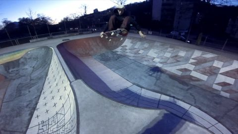 Poorskateboarding family Lugano with Martino Cattaneo - Poor skateboarding Channel