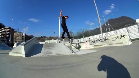 Poorskateboarding Lugano  epi.2 miniclip with Kevin Blaser - Poor skateboarding Channel