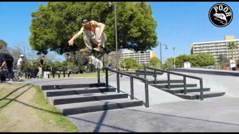 Poorskateboarding with Fabio Emilcare in San Diego - Poor skateboarding Channel