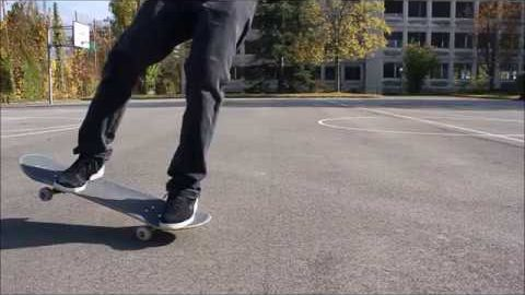 Random freestyle footwork - pooponunicycle