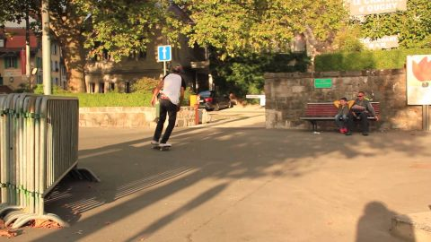 Raw footage Skatecamp.ch part2 - Swiss Skatecamp