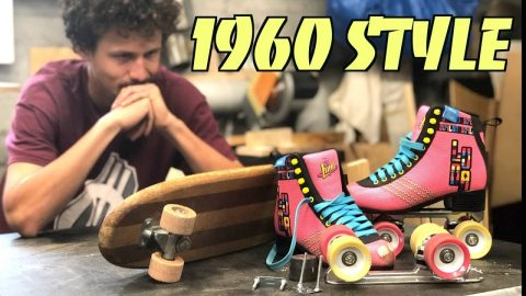 REBUILDING A SKATEBOARD FROM 1960 AND TRYING TO SKATE IT! - Jonny Giger