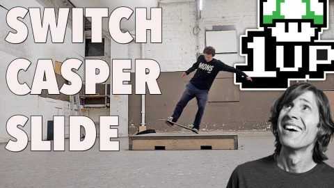 RODNEY MULLEN TRICKS 1UP | SWITCH CASPERSLIDE EP1 - Jonny Giger
