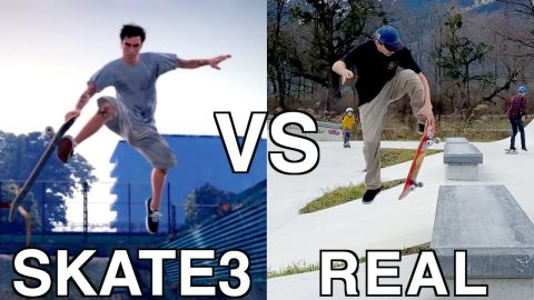 SKATE 3 VS REAL LIFE | SECRET TRICKS - Jonny Giger