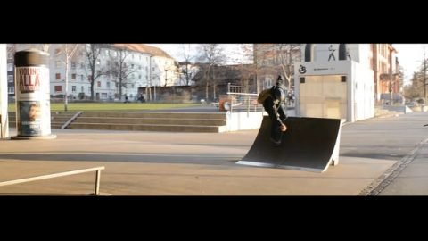skateboarding from basel leftovers - Lucius