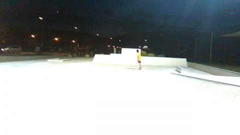 Skatepark Yverdon night - skateboardmedia1