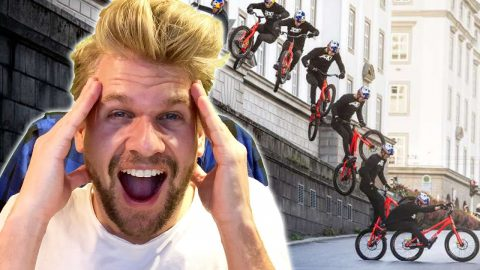 Skater Reacts to Wibmers Law - INSANE MTB Tricks - Fabian Doerig
