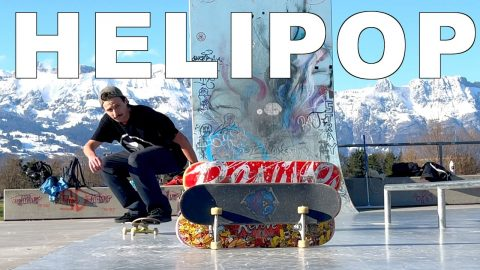 THE HELIPOP Impossible Tricks of Rodney Mullen - Jonny Giger