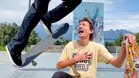 THE MADNESS CONTINUES! IMPOSSIBLE TRICKS OF RODNEY MULLEN - Jonny Giger